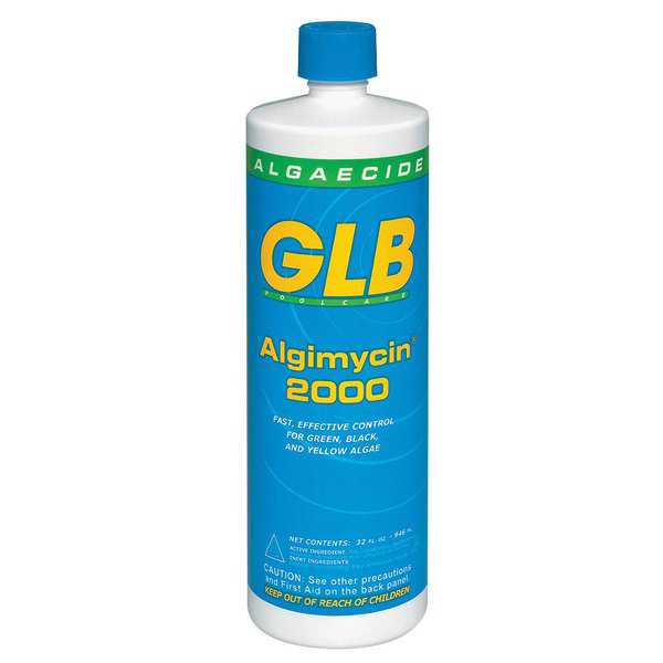 GLB Swimming Pool Algimycin 2000 Algaecide
