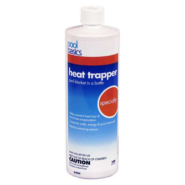 Pool Basics Heat Trapper Pool Solar Blanket In A Bottle Liquid Solar Cover