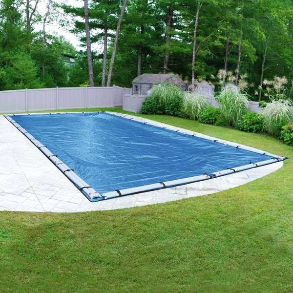 Robelle Blue Mesh Winter Cover for In-Ground Swimming Pools