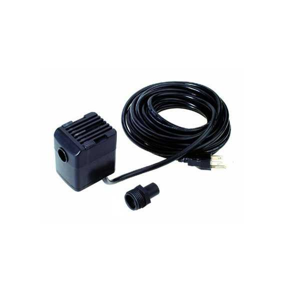 Hydrotools 250 Gallons-Per-Hour Submersible Electric Swimming Pool Cover Pump - Black