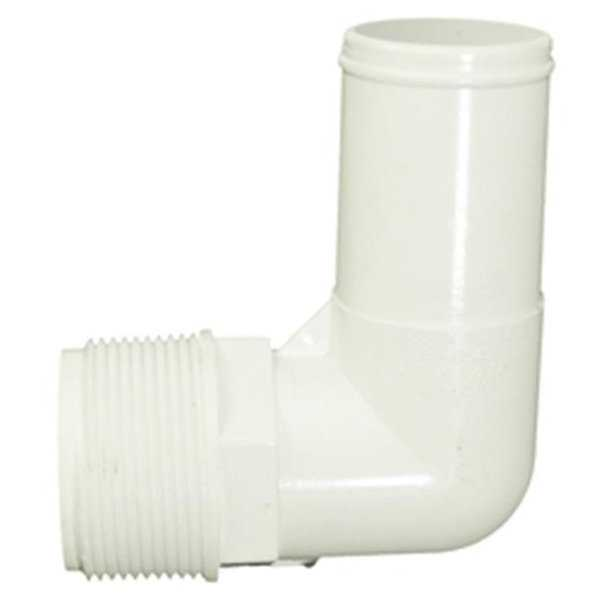 Waterway Plastics WW4116540B 1.5 in. Smooth Elbow Male Pipe Thread